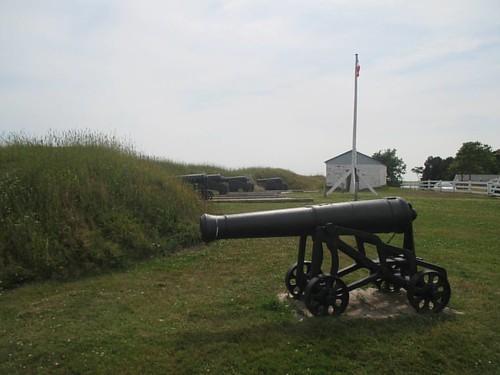 The cannons #pei #charlottetown #victoriapark #princeedwardbattery #latergram #cannon