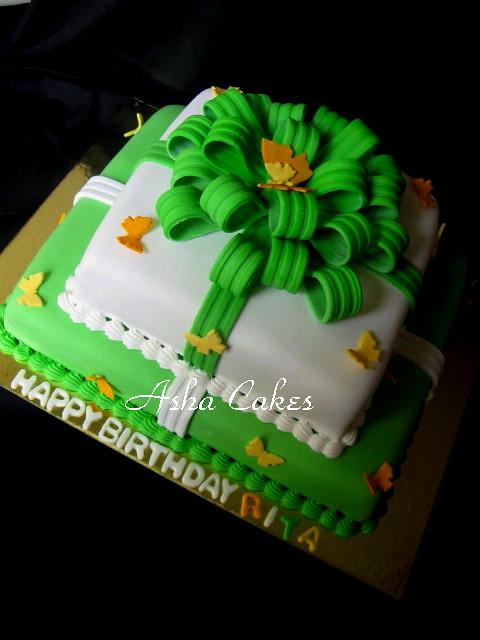 Happy Birthday M Cake