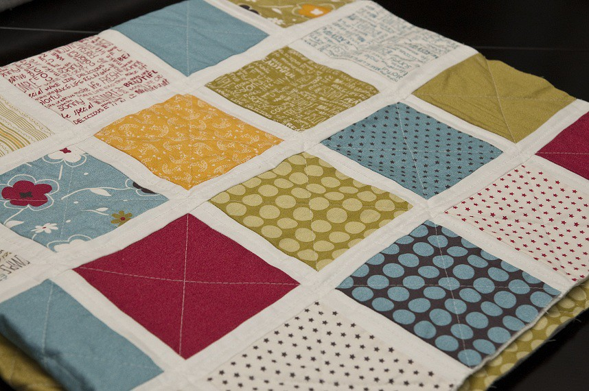 Quilting Grid Patterns : Make Life Baby II Quilting Straight-line quilting in grid ? Flickr