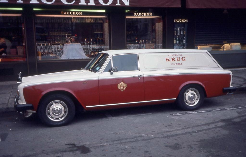 Royce Royce >> Rolls-Royce Krug delivery van in front of Fauchon | Benoit Dujardin | Flickr