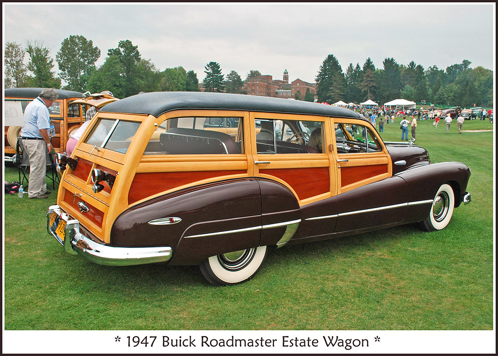 1947 buick roadmaster estate wagon the september 19. Black Bedroom Furniture Sets. Home Design Ideas