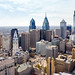 Philadelphia Center City Aerial w/ City Hall