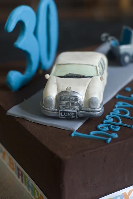 Mercedes Birthday Cake