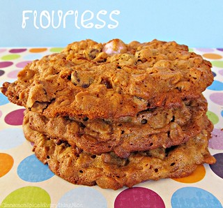 Flourless Monster Cookies | by CinnamonKitchn