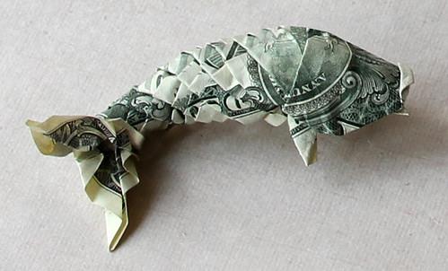 Dollar koi fish flickr photo sharing for Dollar bill koi fish