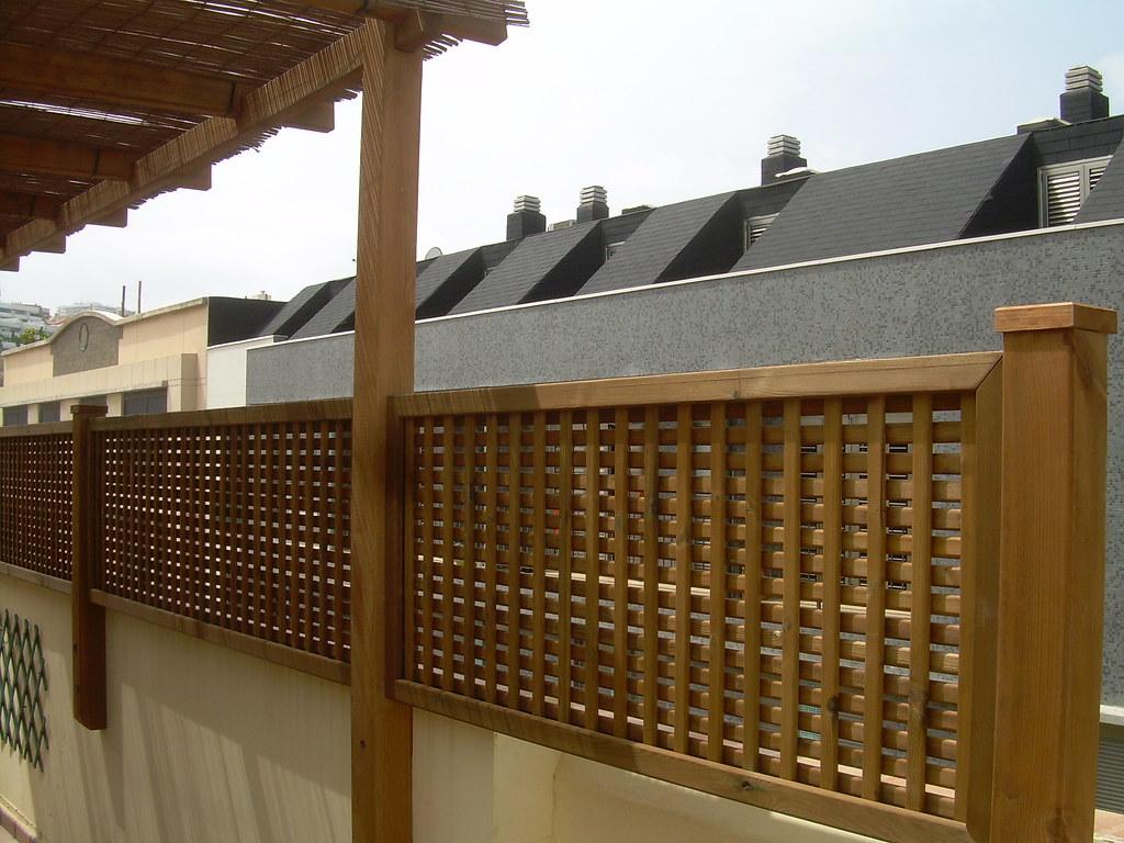 Gardendekor88 pergola y celosias de madera para terrazas - Madera para terrazas ...