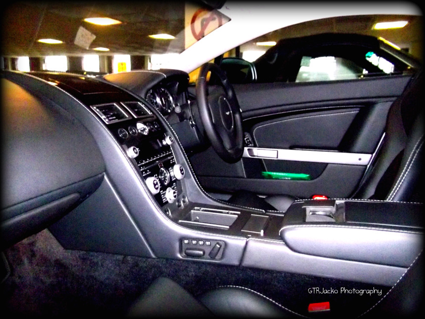 inside the beast the interior of a beautiful 2010 aston ma flickr. Black Bedroom Furniture Sets. Home Design Ideas