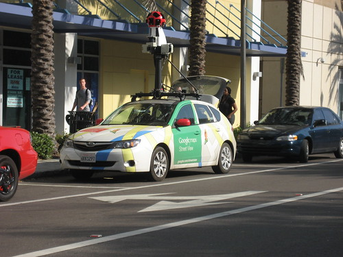 Google Street View car | by lizzardo