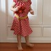 polka dot sweet little dress