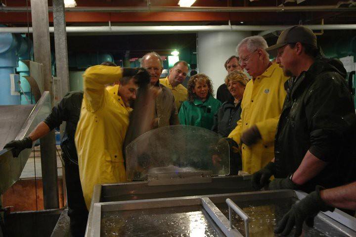 Don clausen fish hatchery at lake sonoma california for Lake sonoma fishing report