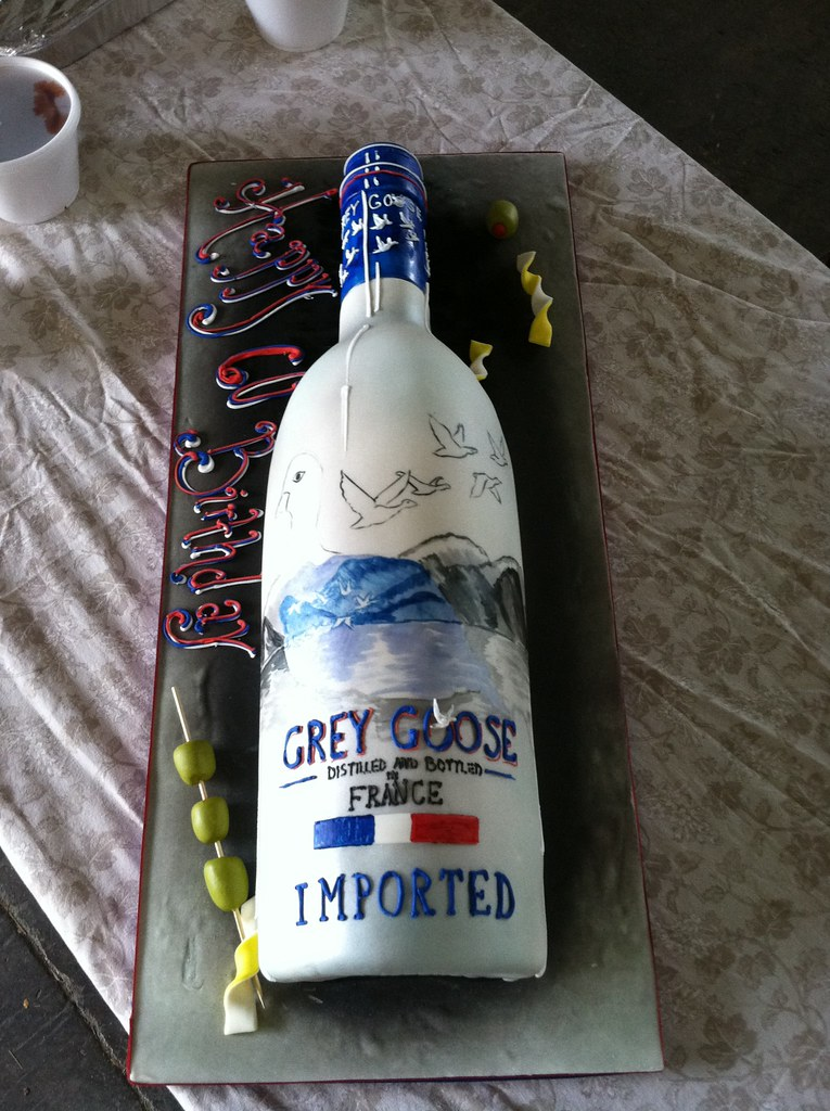 birthday cake vodka grey goose vodka cake served 50 guests chocolate cake 1785
