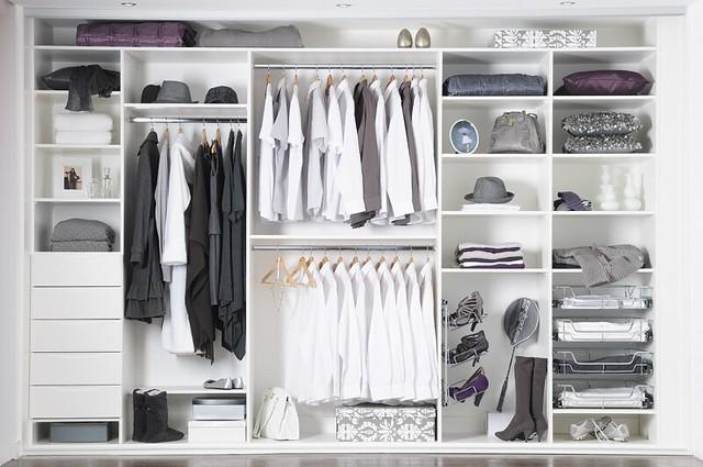 sliderobes fitted sliding wardrobe white interior. Black Bedroom Furniture Sets. Home Design Ideas