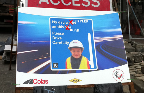 My Dad (& Mum) Cycle On This Road. Please Drive Carefully | by carltonreid