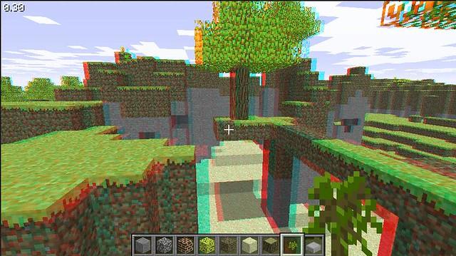 minecraft flash game 3d