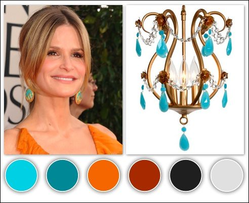 Turquoise Color Palette Hollywood Goes Green At The