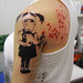 banksy 3 tattoo