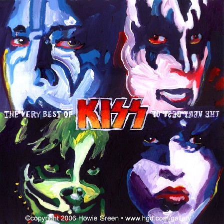 kiss album cover painting you can see my complete
