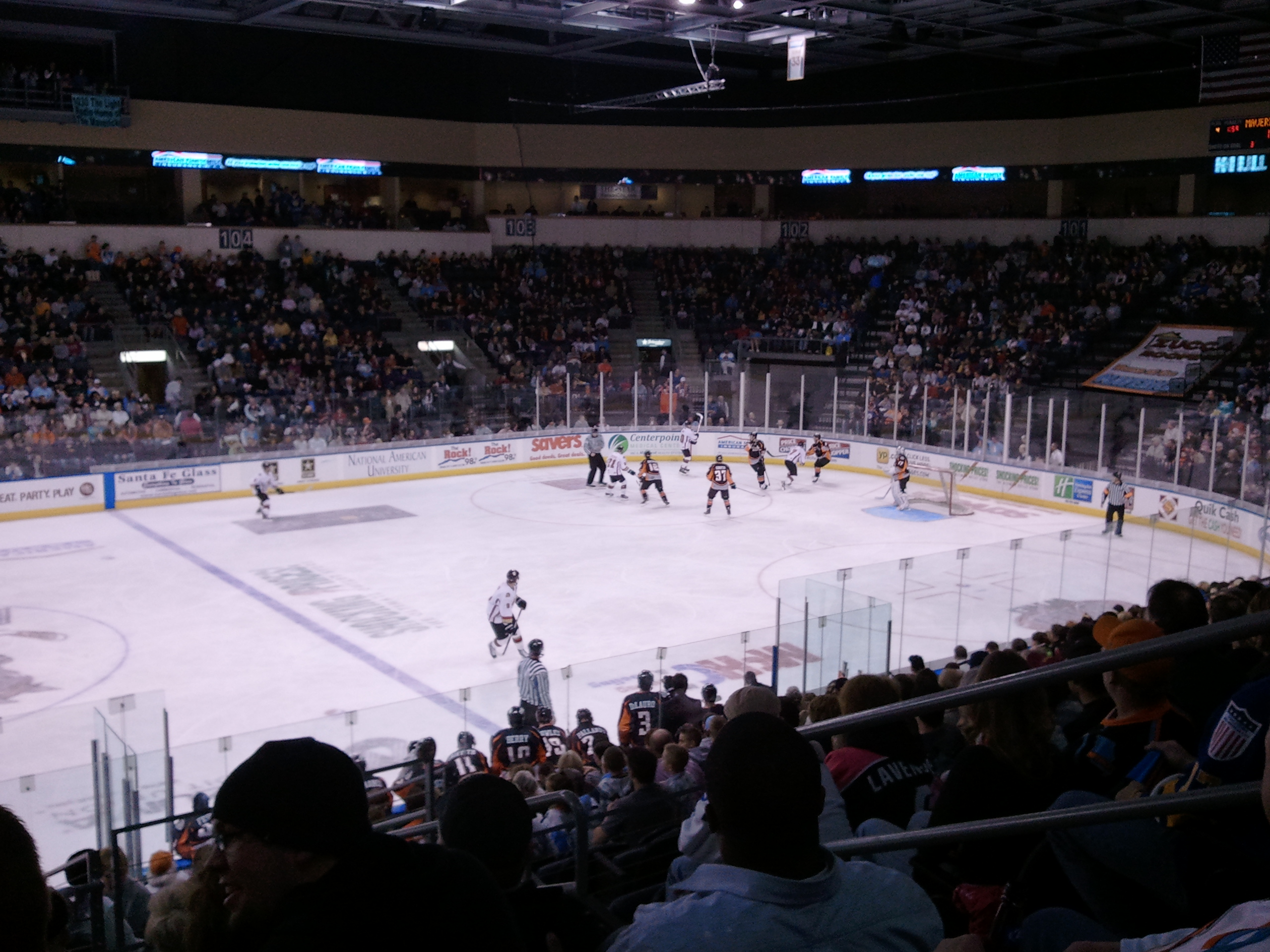 Rapid City Rage vs. Missouri Mavericks