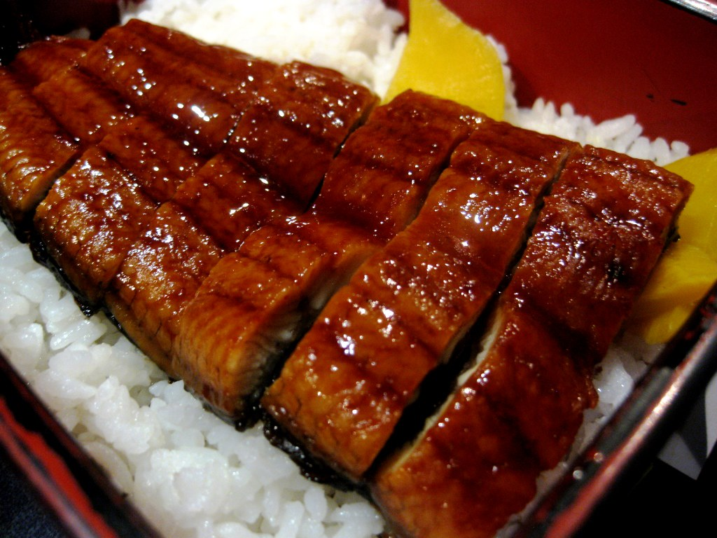 Unagi-don | This is my dad's favorite menu from Midori ...
