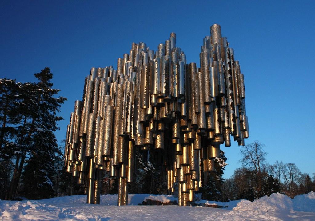 Jean Sibelius Monument Last Shot Www Youtube Com Watch