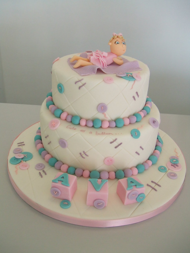 CAKE - new baby cake design 1 Jules enquiries ...