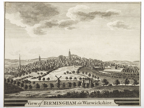 View Of Birmingham From The East 18th Century | by Birmingham Museum and Art Gallery
