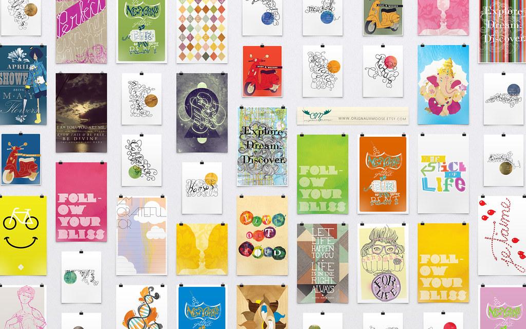 etsy prints wallpaper a 1024x900 desktop wallpaper of