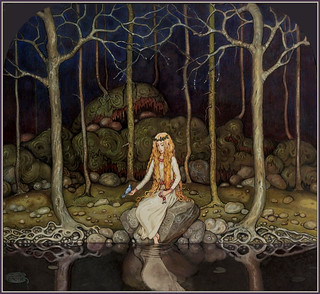 """The Princess in the Forest"" by John Bauer 