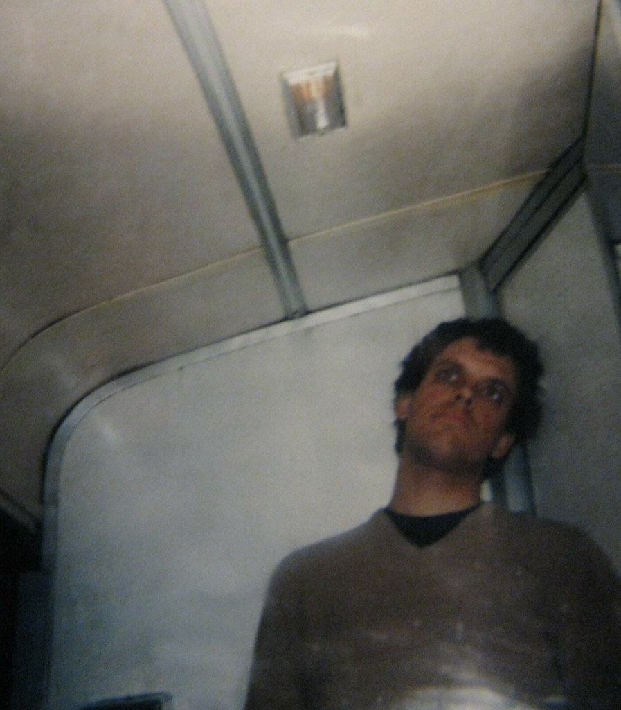 greyhound bus bathroom shot   on a cross country trip in 199…   flickr