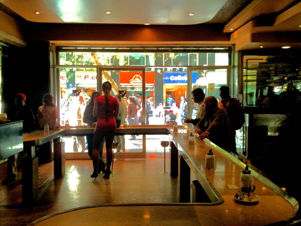 Caf Con Piernas Centro De Santiago Enviado Desde Mi