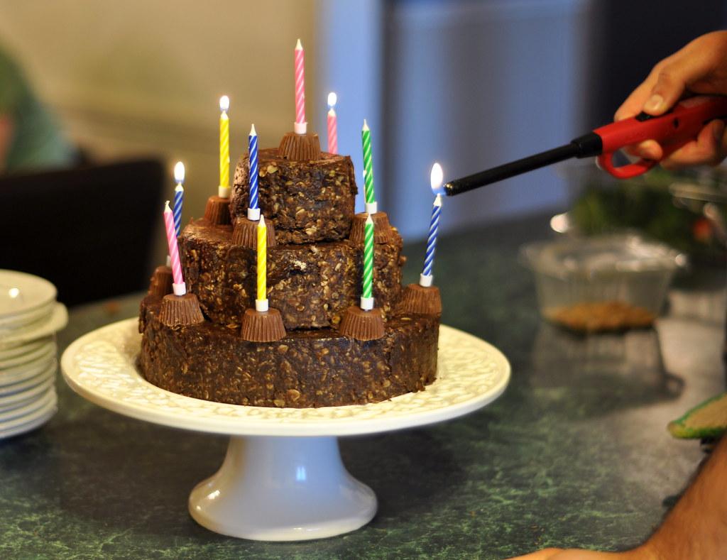 No Bake Birthday Cake Cheesecake