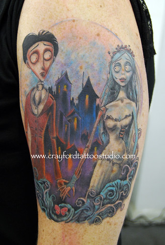 the corpse bride tattoo flickr photo sharing. Black Bedroom Furniture Sets. Home Design Ideas