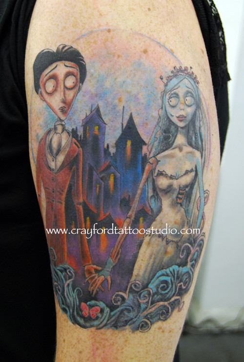 the corpse bride tattoo flickr. Black Bedroom Furniture Sets. Home Design Ideas
