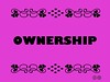 Buzzword Bingo: Ownership