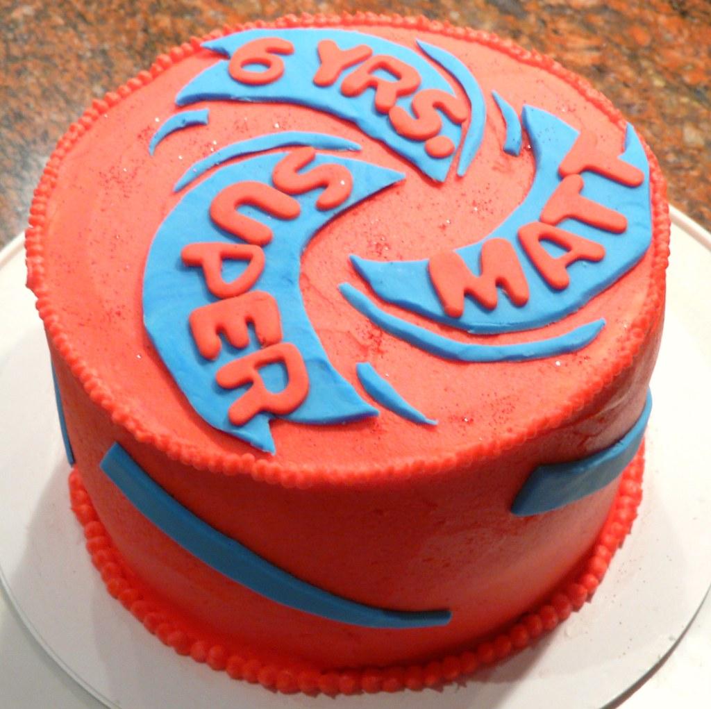 how to make an arena cake