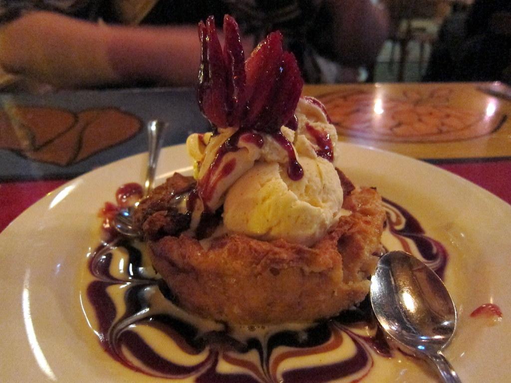 White Chocolate Strawberry Bread Pudding | Bosco's ...