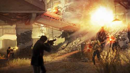 Resistance 3: Fort Lamy Action Arena Battle | by PlayStation.Blog