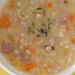 Estonian split pea soup with smoked ham / Hernesupp