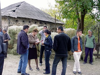 Hale distribution process in Artsvanik community, Syunik region | by UNDP in Europe and Central Asia