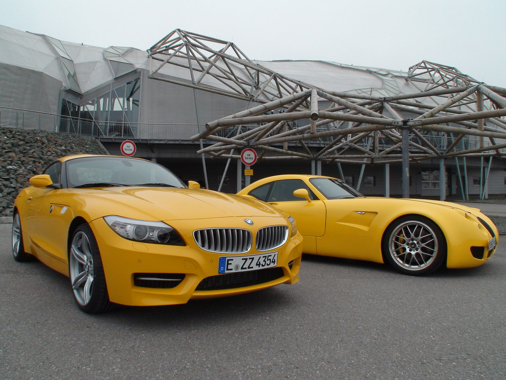 Bmw Z4 35is Atacama Yellow Wiesmann Mf5 Sascha Flickr