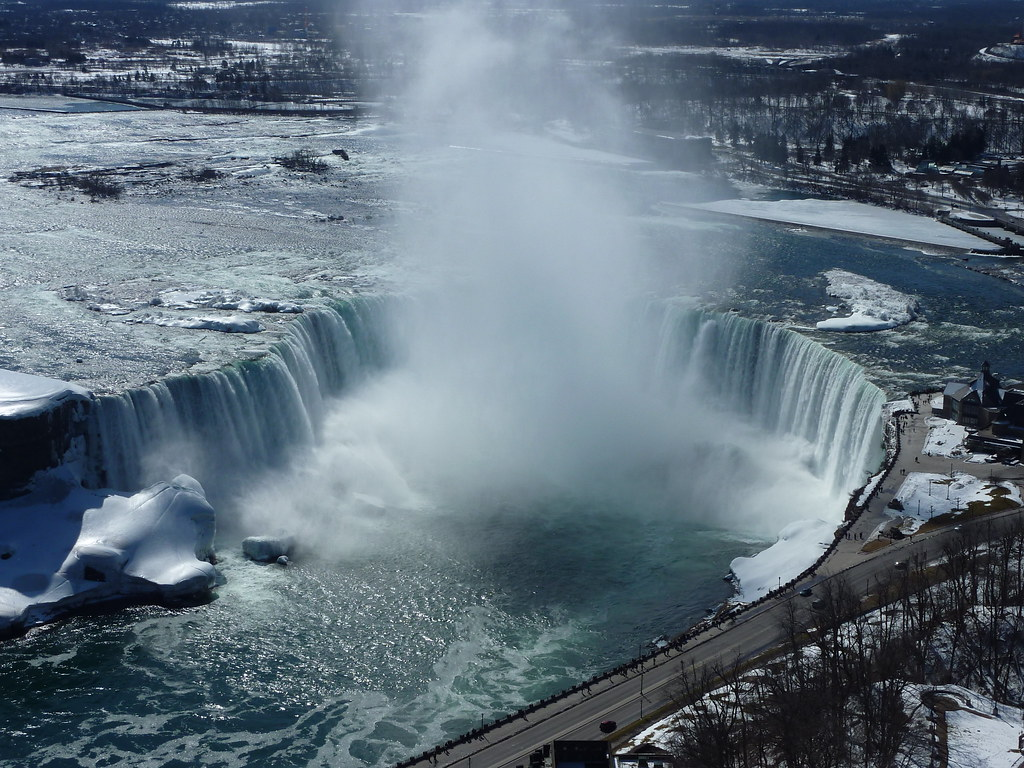 Horseshoe Falls From The Skylon Tower Niagara Falls Flickr