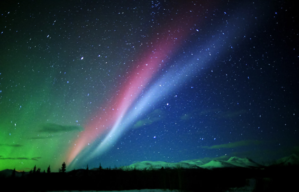 southern northern lights normally in these parts i
