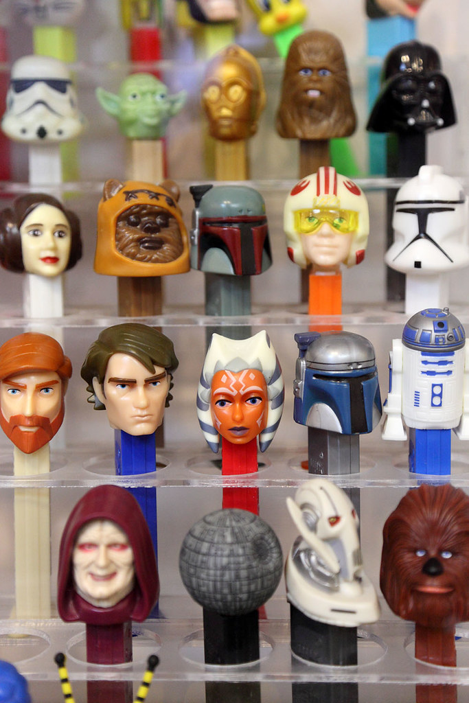 Star wars pez flickr photo sharing for Star wars museum california