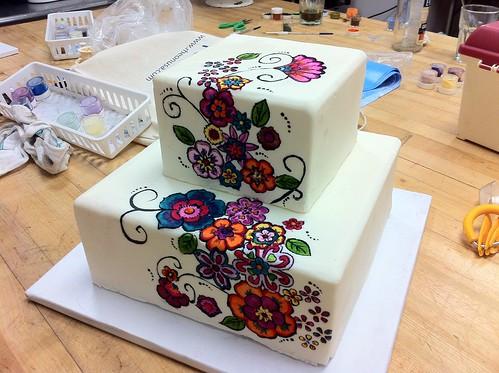 Art Cake Bakery Mexicali : folk art cake 2011 Flickr - Photo Sharing!