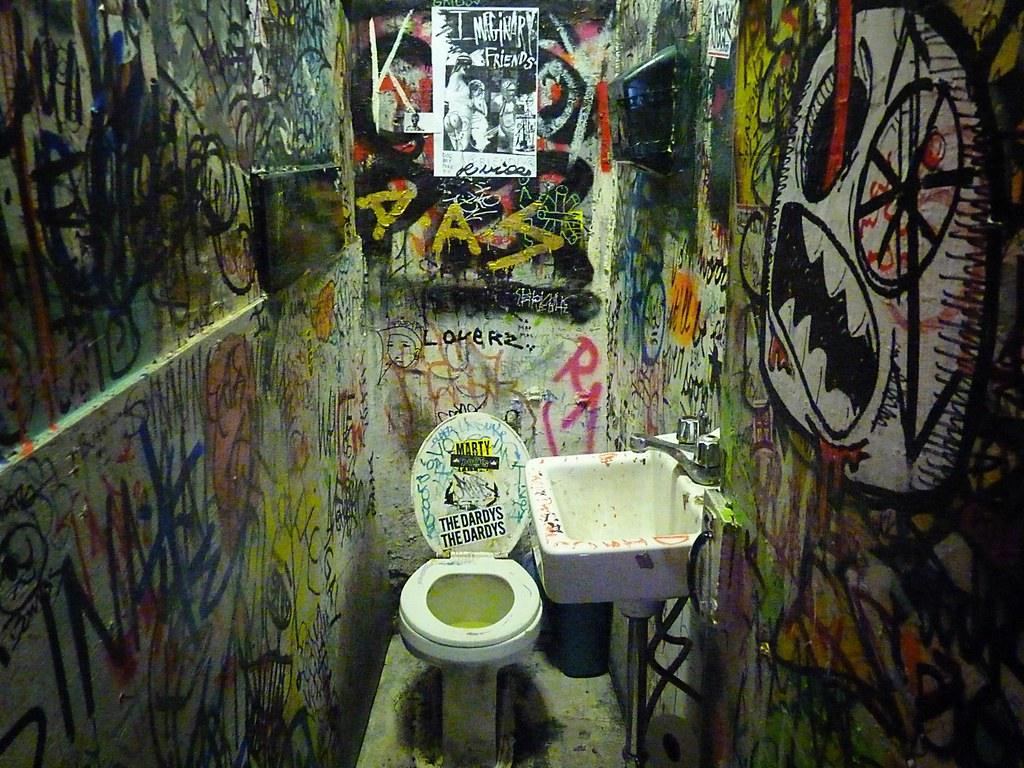 Mars Bar Bathroom East Village New York City 12 Mars