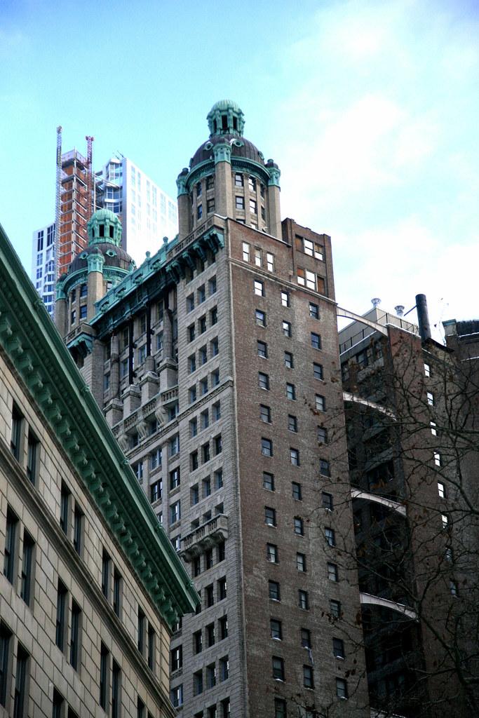 New York City, Lower Manhattan, 15 Park Row Building, 1896