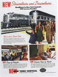 Ad for New York Central 1947 | by Silverbluestar