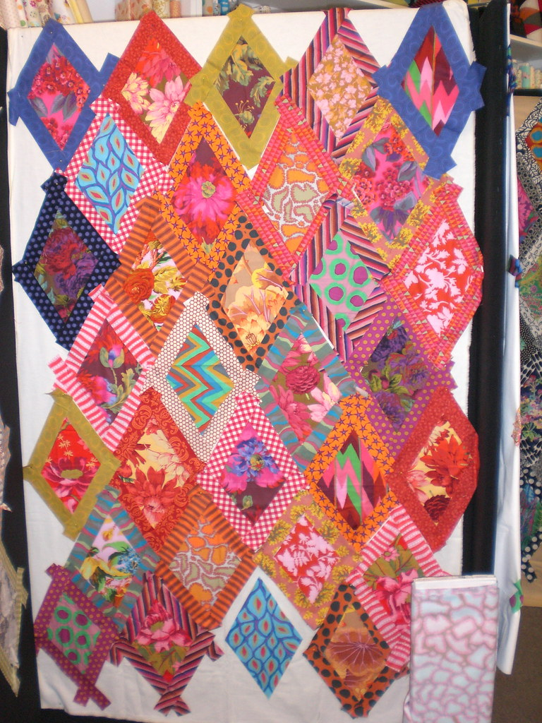 kaffe fassett design wall instructions