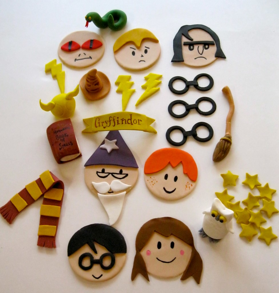Harry Potter Cupcake Decorations