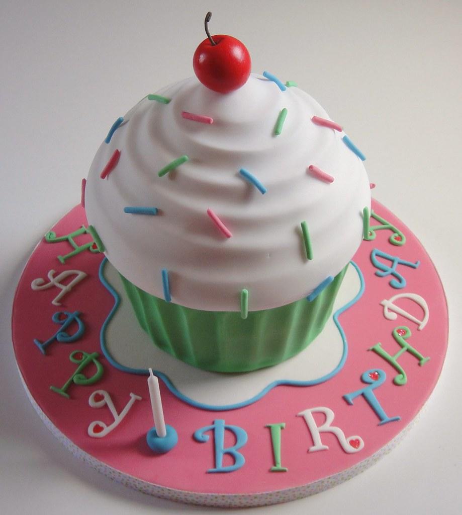 Tall Cupcake Cake